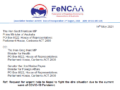FeNCAA requests Australian government for urgent help to Nepal to fight the dire situation due to the current wave of COVID-19 Pandemic